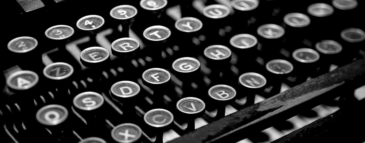 typewriter for references letters